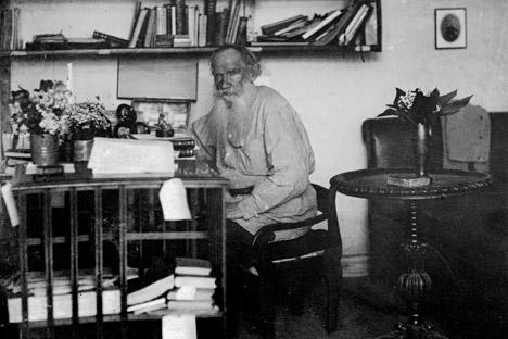 Léon Tolstoï a souhaité léguer ses œuvres aux gens. Crédit : Photoshot