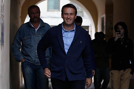 Sur son blog, Alexeï Navalny évoque les intérêts financiers « personnels » des gens, parle des actionnaires minoritaires et de la corruption des fonctionnaires. Crédit : Reuters