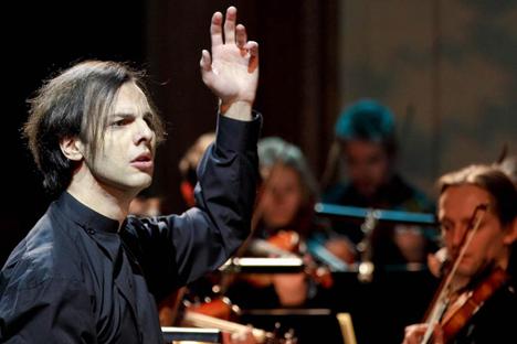 Le chef d'orchestre Teodor Currentzis, 41 ans, directeur de l'Opéra ballet de Perm (dans l'Oural). Source : service de presse