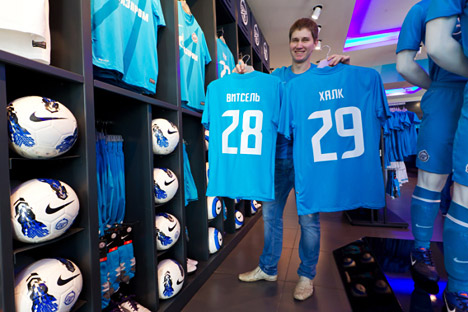Le club russe Zénith Saint-Pétersbourg a gagné en 2013 près de 61,6 millions d'euros. Source : service de presse