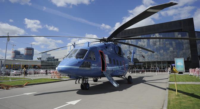 Des hélicoptères appréciés pour leur robustesse et leur résistance aux climats extrêmes. Ici, un Mi-38. Crédit : RIA Novosti