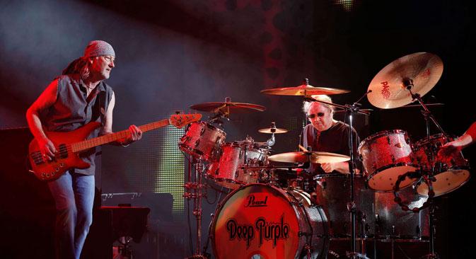 Le 6 novembre, le groupe légendaire Deep Purple se produira sur un des plus grands espaces de concert, le stade Olimpiïski. Crédit : Reuters