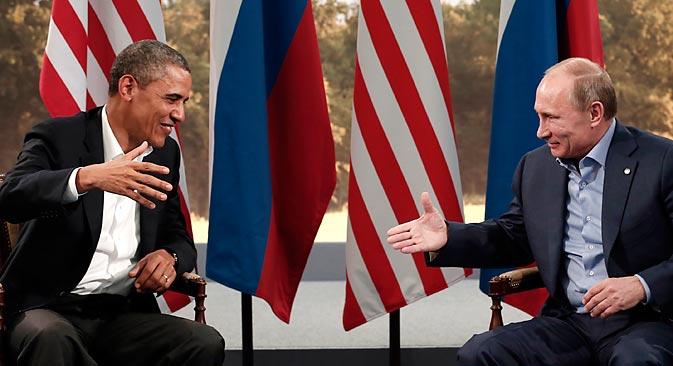 Les deux chefs d'Etat ne se parleront pas en toute intimité à Saint-Pétersbourg. Crédit : Reuters