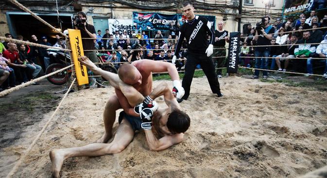 En deux ans, onze tournois ont été organisés sous les auspices de Strelka. Crédit : Itar-Tass