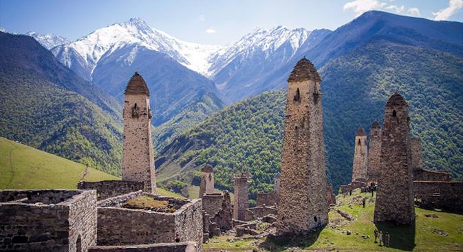 Les tours des Galgaï Source : lunatik38.livejournal.com