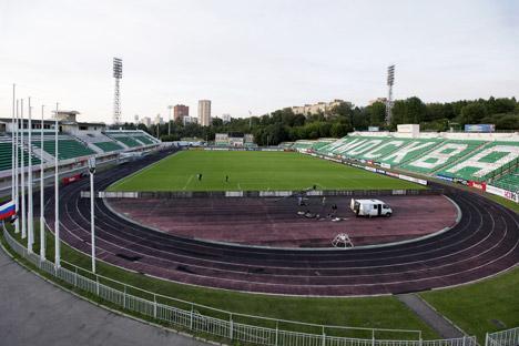 Cinq ans avant la Coupe du monde-2018, la Russie ne dispose d'aucun stade de football de qualité. Crédit : Anton Denissov/RIA Novosti