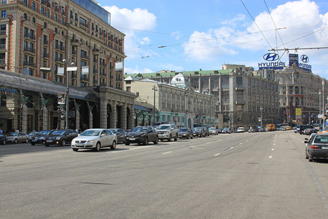 Avec la crise, les prix de l'immobilier commercial rue Tverskaïa ont considérablement diminué. Source : service de presse