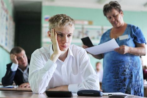 Plusieurs établissements scolaires ont installé des brouilleurs d'ondes de téléphone mobile. Crédit : Itar-Tass