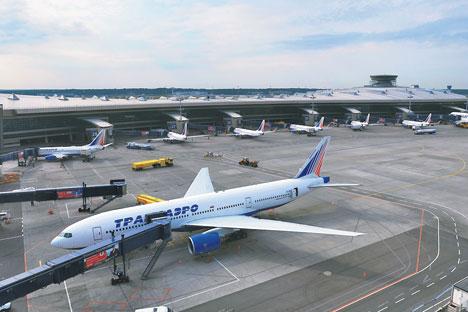 La demande est en augmentation constante entre les deux capitales, surtout au départ de Moscou. Source : Service de presse