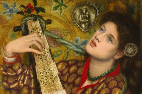 """A Christmas Carol"" (Un chant de Noël), Dante Gabriel Rossetti"