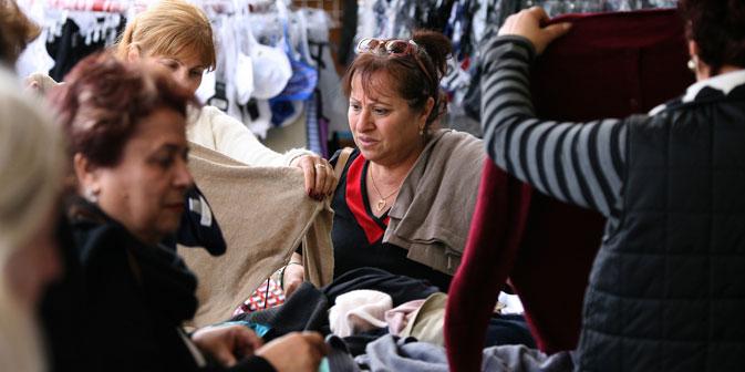 En Russie, les prix aux marchés vestimentaires sont de 15 ou 20% supérieurs aux prix sur les mêmes vêtements dans des chaînes populaires. Crédit : PhotoXPress