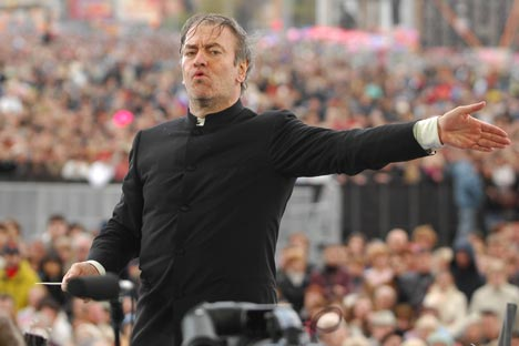 Guérguiev confirmou a sua participação nos eventos culturais das próximas Olimpíadas ainda em setembro deste ano Foto: RG