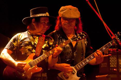 Le groupe britannique légendaire Slade donnera deux concerts en Russie. Crédit : Alamy/Legion Media
