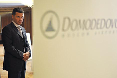 Le président du CA de l'aéroport Domodedovo, Dmitri Kamenschik. Crédit : Artem Zhitenev / RIA Novosti