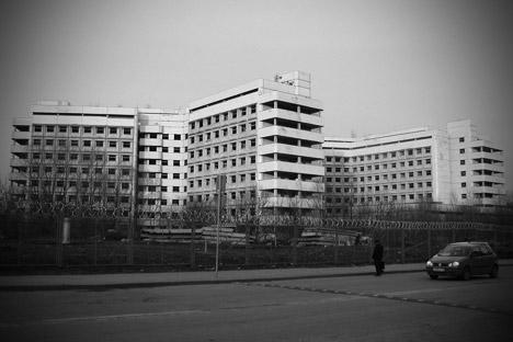 Khovrinskaya Abandoned Hospital. Source: