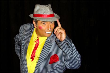 Le clown Francesco de France. Source : clownfrancesco.com