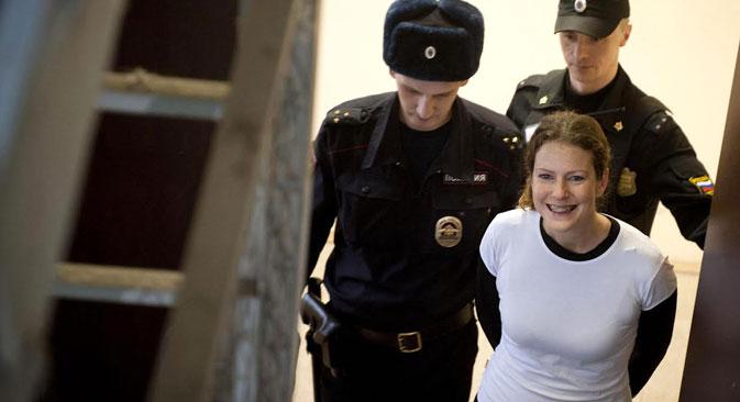 La Brézilienne Ana Paula Alminhana Maciel. Crédit : AFP/East News