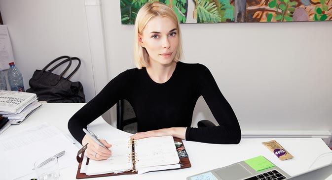 Elena Chifrina, fondatrice de la société produisant les barres de céréales diététiques Bite. Source : service de presse
