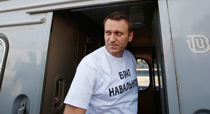 "Navalny said these new charges involving Yves Rocher are ""absurd."" Source: Reuters"