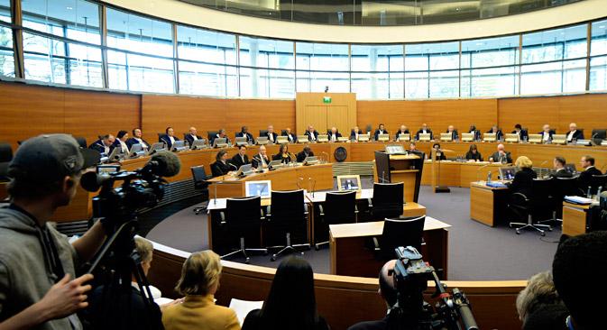 Une question se pose : quelles conséquences aura pour la Russie la décision de ne pas exécuter les prescriptions du Tribunal ? Crédit : Reuters
