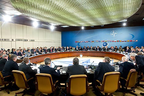 Le partenariat OTAN-Russie a remporté des succès visibles dans des domaines tels que la lutte contre le terrorisme et la piraterie, la gestion des catastrophes naturelles ou d'origine d'humaine, ainsi que sur l'Afghanistan. Source : service de presse