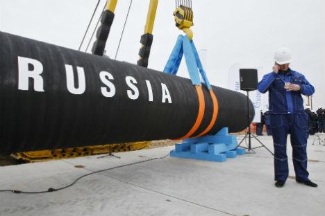 Gazprom reagiert mit Preisnachlässen auf die sinkende Nachfrage aus Europa. Foto: AP