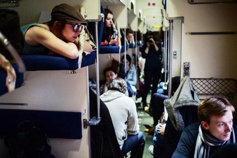 Die Schlafwaggons der dritten Klasse, Plazkart genannt, sollen abgeschafft werden. Foto: Wladimir Astapkowitsch/RIA Novosti