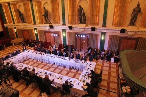 Le Forum a montré l'ambition de promouvoir l'art contemporain et d'attirer le public vers les nouvelles formes artistiques. Source : culturalforumspb.org