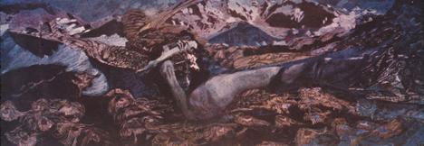 """""""O seu demônio permaneceu leal à sua própria natureza, e mesmo amando Vrúbel, ele enganou o artista"""" Foto: serviço de imprensa"""