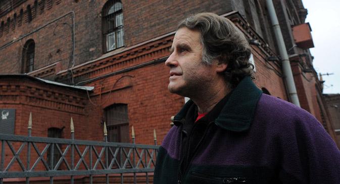 Le capitaine d'Arctic Sunrise Peter Willcox Crédit : AFP / East News