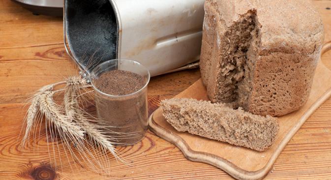 Aujourd'hui, beaucoup de Russes font leur pain eux-mêmes. Crédit : Lori / Legion Media