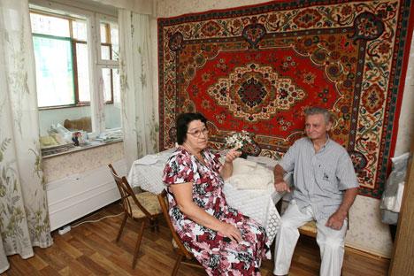 En URSS, le tapis est devenu un élément essentiel de la vie quotidienne. Crédit : PhotoXPress