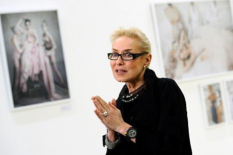 Olga Sviblova avoue ne jamais avoir voulu être actrice, c'est le seul métier qui ne l'ait jamais attiré. Crédit : Itar-Tass