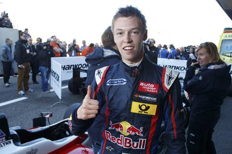 Daniil Kvyat a pris part au programme de détection de jeunes pilotes de Red Bull, impressionnant son chef Helmut Marko qui a recommandé d'embaucher le jeune Russe. Crédit : Imago / Legion Media