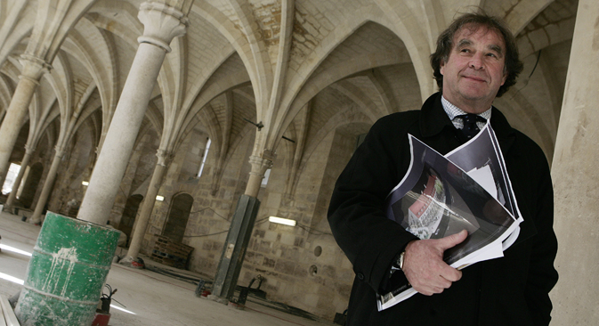 Jean-Michel Wilmotte : « Nous sommes très intéressés par ce que nous appelons « l'architecture des intérieurs urbains ». Crédit : AFP / East News