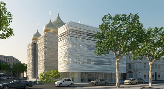 modernit et tradition pour le nouveau centre culturel de paris russia beyond fr. Black Bedroom Furniture Sets. Home Design Ideas
