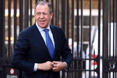 Sergueï Lavrov Crédit : Reuters