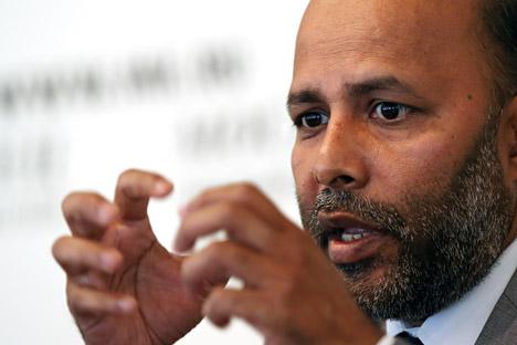 Muhammad Madzumder parle avec respect des autorités mais critique toutefois constamment le Service Fédéral des Migrations. Crédit : Itar-Tass