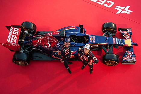 Daniil Kvyat fera équipe avec le Français Jean-Éric Vergne (23 ans). Crédit : Imago / Legion Media