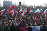 manifestation en Crimée