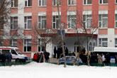 attaque à l'école de Moscou