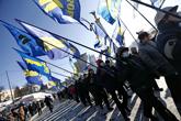protestations à Kiev