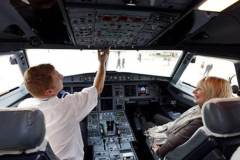 Licença resultará na instalação de equipamentos de bordo russos em aeronaves comerciais nacionais, tais como MC-21 e Superjet Foto: Photoshot/Vostock Photo