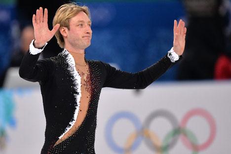 Après l'intervention, le patineur n'a pas eu le temps pour s'en remettre, étant obligé de se préparer pour les Jeux olympiques de Sotchi. Crédit : Vladimir Pesnya / RIA Novosti