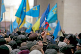 manifestation en Ukraine