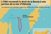 enclave russe dans la mer d'Okhotsk