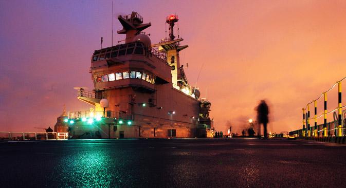 O estado dos navios da Marinha de guerra da Ucrânia e de suas embarcações de apoio requer uma discussão à parte Foto: Aleksêi Dánitchev/RIA Nóvosti