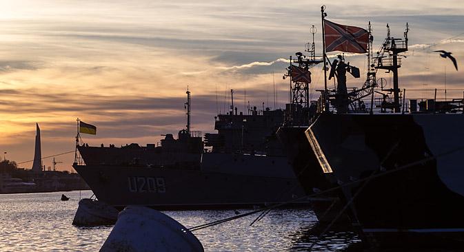 Atualmente, 25 mil militares russos vivem na região Foto: Serguêi Savostianov/RG