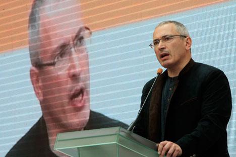 Mikhaïl Khodorkovski Crédit : AP