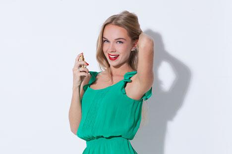 Maria Borisova marque de son emprunte la parfumerie russe. Crédit photo : Alexandre  Kornyukhin